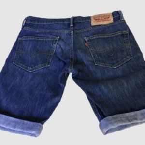 Levi's 511 Shorts Size 28 Women's Short Blue Denim